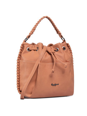 Pepe Jeans Pepe Jeans Дамска чанта Joumma Bags Sl. 7037225 Кафяв