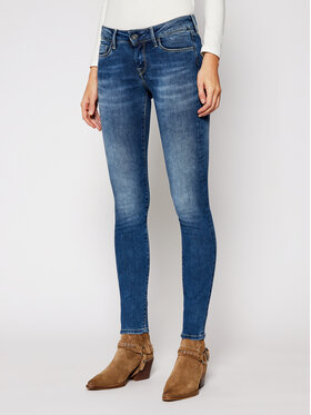 Pepe Jeans Pepe Jeans Jeansy Soho PL201040 Granatowy Skinny Fit