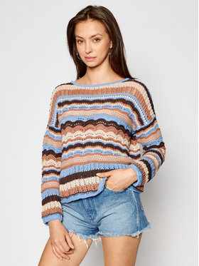 Kontatto Kontatto Sweater 3M7270 Barna Regular Fit