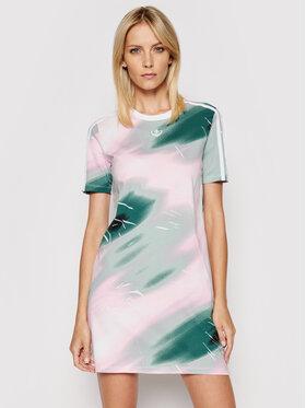 adidas adidas Kasdieninė suknelė Tee GN3264 Spalvota Regular Fit