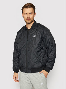 Nike Nike Μπόμπερ μπουφάν CZ9998 Μαύρο Loose Fit