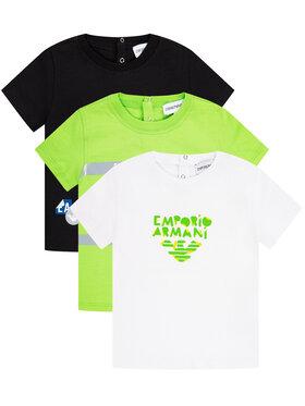 Emporio Armani Emporio Armani Komplet 3 t-shirtów 3HHD01 4J09Z 0582 Kolorowy Regular Fit