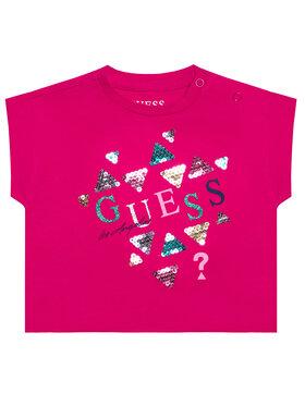 Guess Guess T-shirt K1GI03 K6YW1 Ružičasta Regular Fit