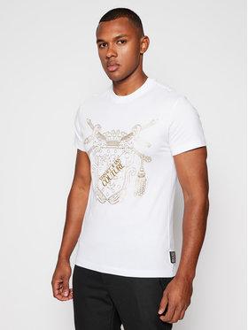 Versace Jeans Couture Versace Jeans Couture T-shirt B3GZB7TF Blanc Slim Fit
