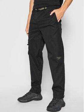 Reebok Reebok Pantalon en tissu Classics Camping GS4190 Noir Regular Fit