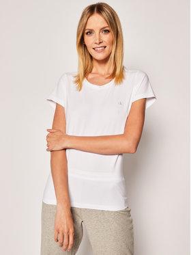 Calvin Klein Underwear Calvin Klein Underwear 2-dielna súprava tričiek Lounge 000QS6442E Biela Regular Fit