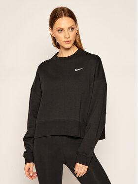 NIKE NIKE Bluză Nsw Crew Fleece Trend CK0168 Negru Loose Fit