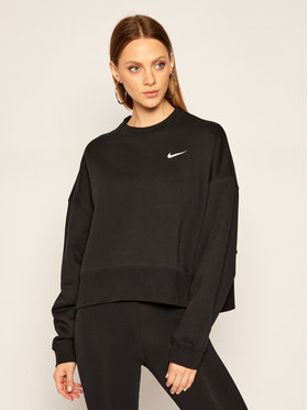 Nike Nike Mikina Essential CK0168 Černá Loose Fit