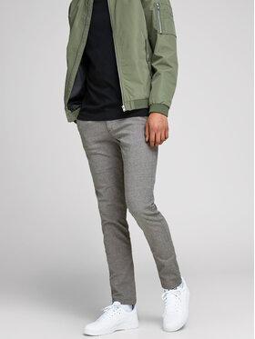 Jack&Jones Jack&Jones Текстилни панталони Marco Enso 12170333 Сив Slim Fit