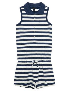 Polo Ralph Lauren Polo Ralph Lauren Ολόσωμη φόρμα Polo Romper 312785528001 Μπλε Regular Fit