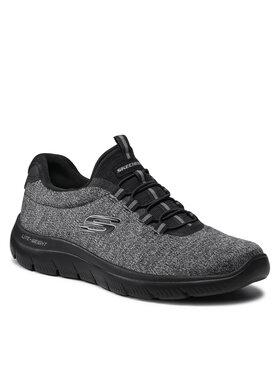 Skechers Skechers Sneakersy Forton 52813/BBK Szary