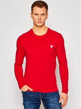 Guess Guess Тениска с дълъг ръкав M1RI28 J1311 Червен Super Slim Fit