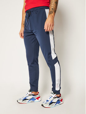 Fila Fila Sportinės kelnės Laito Track 683195 Tamsiai mėlyna Regular Fit