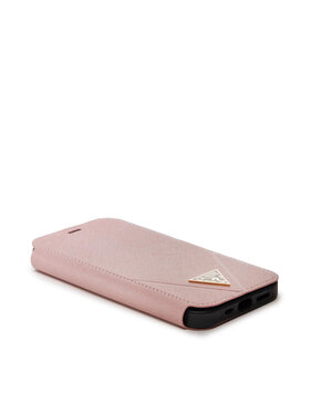 Guess Guess Θήκη κινητού GUFLBKP12MVSATMLPI Ροζ