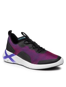 Geox Geox Sneakersy J Playkix G. A J04BMA 0AS54 C8277 S Fioletowy