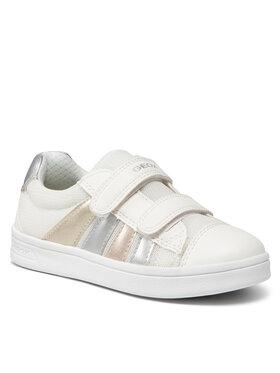 Geox Geox Sneakersy J Djrock G. B J154MB 01454 C1000 S Biały