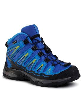 Salomon Salomon Trekingová obuv X-Ultra Mid Gtx J GORE-TEX 390294 12 W0 Modrá