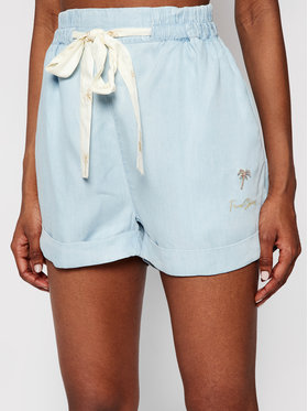 Femi Stories Femi Stories Stoffshorts Fito Blau Relaxed Fit
