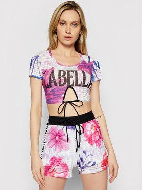 LaBellaMafia LaBellaMafia Bluză 21302 Violet Slim Fit