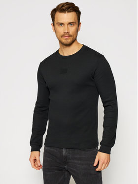 Calvin Klein Jeans Calvin Klein Jeans S dlhými rukávmi J30J317091 Čierna Regular Fit
