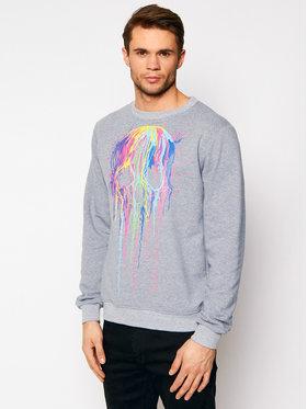 Rage Age Rage Age Sweatshirt Splashskull2 2 Grau Regular Fit