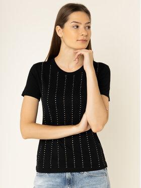 Guess Guess T-shirt Krystal Tee W01I70 K46D0 Nero Regular Fit