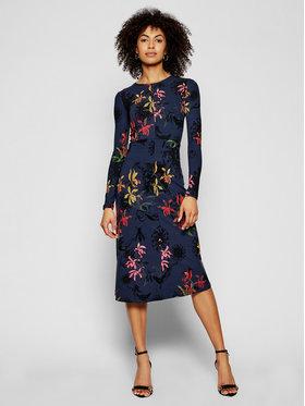 Desigual Desigual Sukienka dzianinowa Koko 21SWVK24 Granatowy Slim Fit