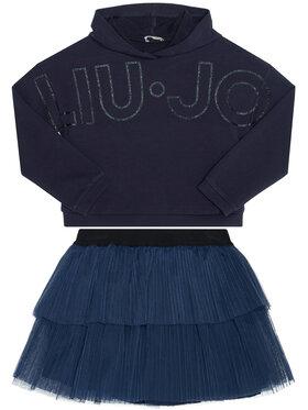Liu Jo Kids Liu Jo Kids Set Sweatshirt und Rock KF0039 F0090 Rosa Regular Fit