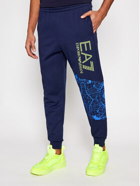 EA7 Emporio Armani EA7 Emporio Armani Pantalon jogging 3KPP61 PJ05Z 1554 Bleu marine Regular Fit