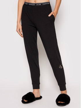 Calvin Klein Underwear Calvin Klein Underwear Spodnie dresowe 000QS6685E Czarny Regular Fit