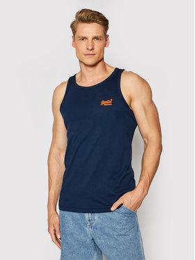 Superdry Superdry Tank top marškinėliai Ol Neon Lite M6010615A Tamsiai mėlyna Regular Fit
