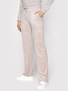 Juicy Couture Juicy Couture Sportinės kelnės Del Ray JCAP180 Rožinė Regular Fit