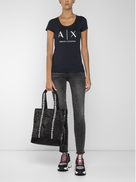 Armani Exchange Armani Exchange jeansy_skinny_fit 6GYJ01 Y2HMZ 0903 Pilka Slim Fit