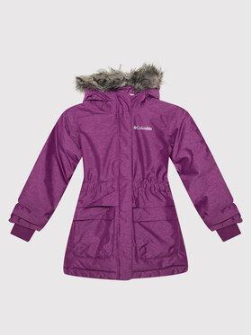 Columbia Columbia Зимно яке Nordic Strider 1557061575 Виолетов Regular Fit