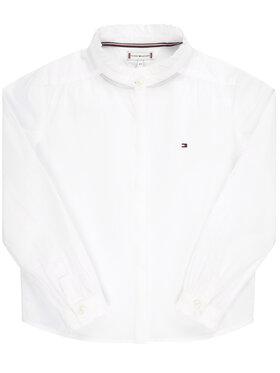 Tommy Hilfiger Tommy Hilfiger Koszula Essential Ruffle KG0KG04980 M Biały Regular Fit