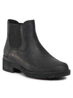 Timberland Timberland Kotníková obuv s elastickým prvkem Graceyn Chelsea TB0A2CTC Černá