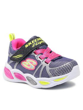 Skechers Skechers Sneakersy Shimmer Beams-Sporty 302042N/NVMT Granatowy