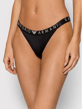 Emporio Armani Underwear Emporio Armani Underwear Дамски бикини тип бразилиана 164521 1A210 00020 Черен