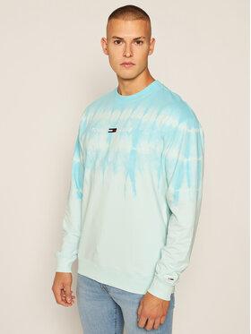 Tommy Jeans Tommy Jeans Bluză Tie Dye Crew DM0DM08473 Albastru Regular Fit