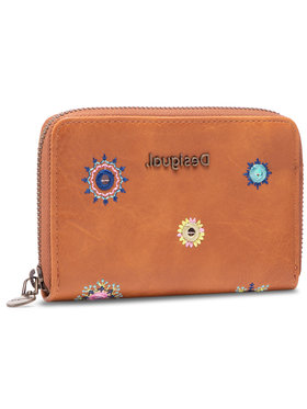 Design GO Design GO Velká dámská peněženka 21SAYP56 Hnědá