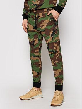 Polo Ralph Lauren Polo Ralph Lauren Teplákové kalhoty Pnt 710828121001 Zelená Regular Fit