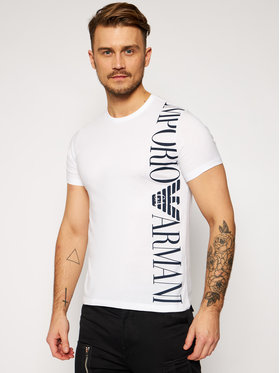 Emporio Armani Emporio Armani T-Shirt 211831 1P469 00010 Biały Regular Fit