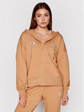 PLNY LALA PLNY LALA Sweatshirt Look And Kiss Miss PL-BL-MZ-00004 Braun Regular Fit
