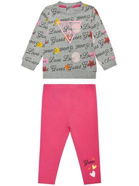Guess Guess Komplet bluza i legginsy A1RG00 KAEF0 Kolorowy Regular Fit