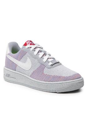 Nike Nike Взуття Af1 Crater Flyknit (GS) DH3375 002 Сірий