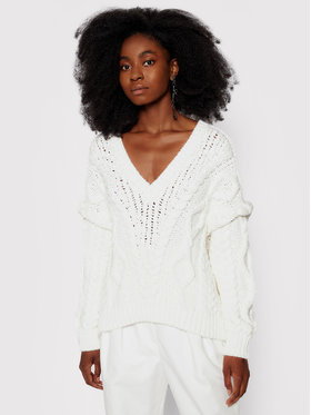 IRO IRO Sweater Prade AP240 Fehér Relaxed Fit