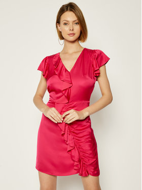 Guess Guess Coctailkleid Gisel W0GK0M WCUO0 Rosa Slim Fit