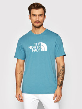 The North Face The North Face T-Shirt Easy NF0A2TX3 Niebieski Regular Fit