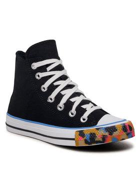 Converse Converse Sneakers aus Stoff Ctas Hi 570291C Schwarz