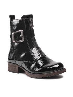 Rieker Rieker Členková obuv Z9552-00 Čierna